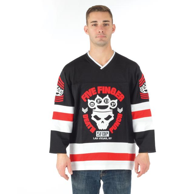 Five Finger Death Punch Knuckle Crown Hockey Jersey