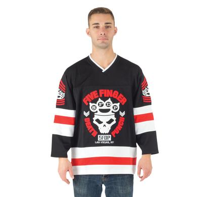 Five Finger Death Punch Knuckle Crown Hockey Jersey