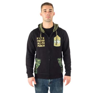 Five Finger Death Punch Knucklehead Camo Hoodie