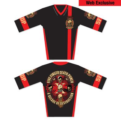 Five Finger Death Punch 10th Anniversary Limited Edition Moto Jersey