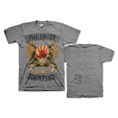 Five Finger Death Punch Locked and Loaded Tour T-Shirt
