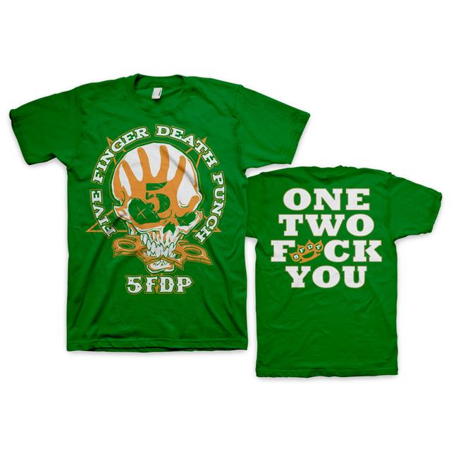 Five Finger Death Punch FFDP St. Paddy's Day T-Shirt