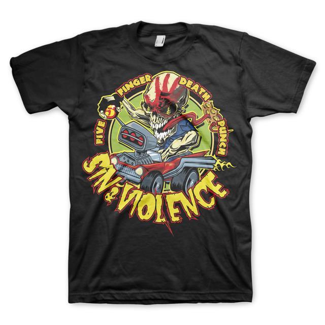 Five Finger Death Punch Sin & Violence T-Shirt