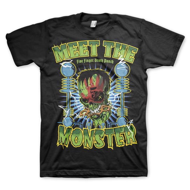 Five Finger Death Punch Meet The Monster T-Shirt