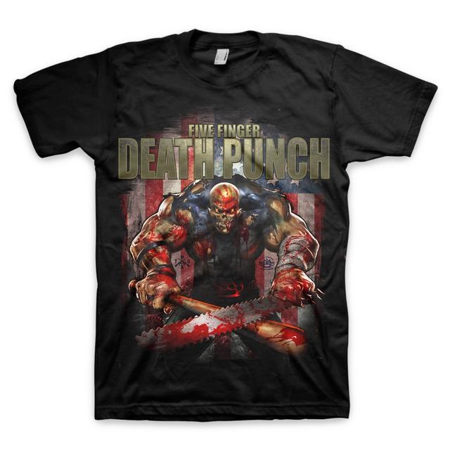 Five Finger Death Punch Got Your Six Redemption T-Shirt