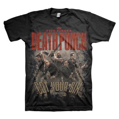 Five Finger Death Punch 5 Finger Death Punch Zombie Killers T-Shirt