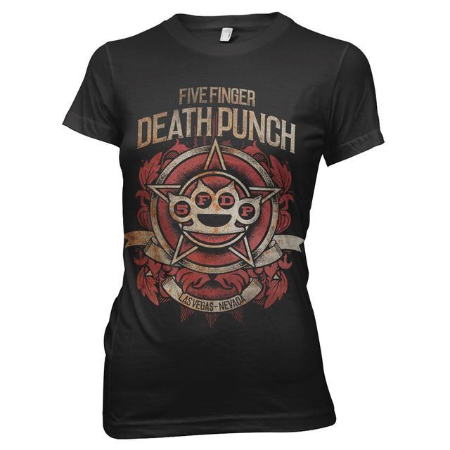 Five Finger Death Punch 5 Finger Death Punch Badge of Honor T-Shirt