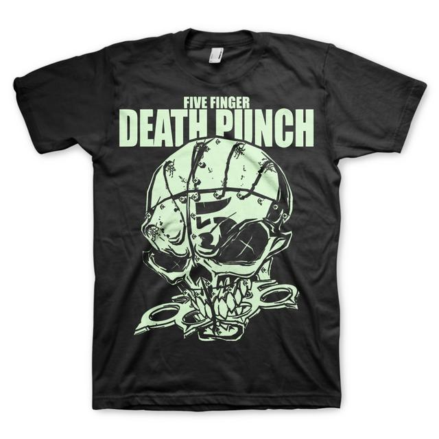 Five Finger Death Punch Knucklehead Glow T-Shirt