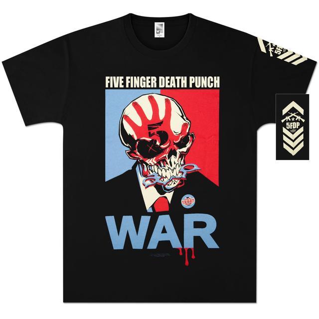 Five Finger Death Punch War T-Shirt