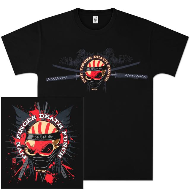 Five Finger Death Punch Samurai T-Shirt