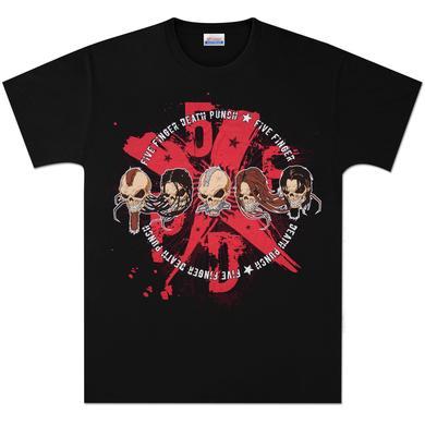 Five Finger Death Punch 5xFxDxPx T-Shirt