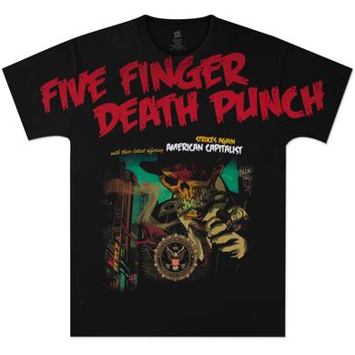 Five Finger Death Punch Strikes Again Allover T-Shirt