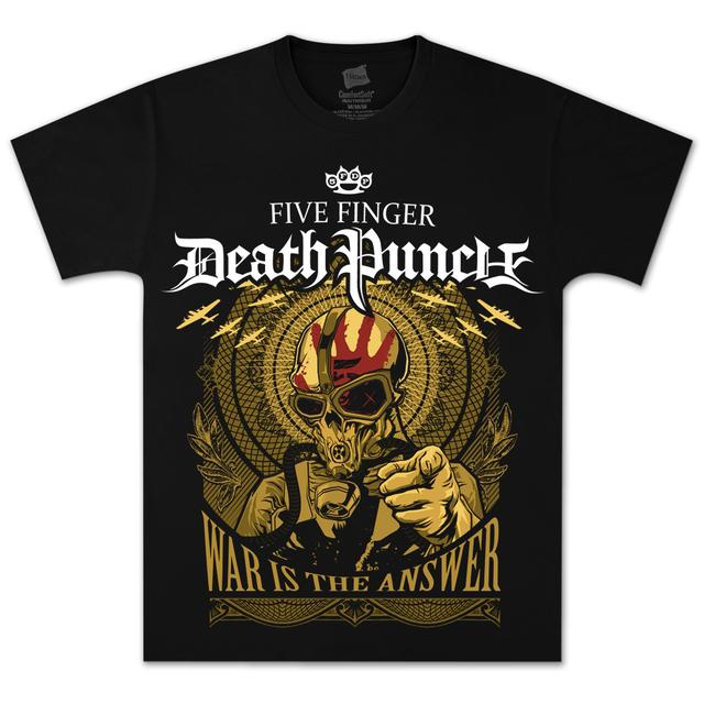 Five Finger Death Punch The Answer T-Shirt