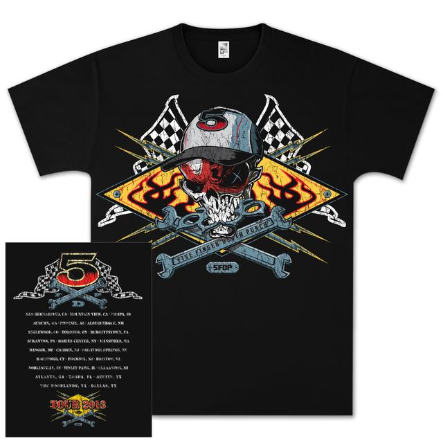 Five Finger Death Punch Wrench Tour T-Shirt