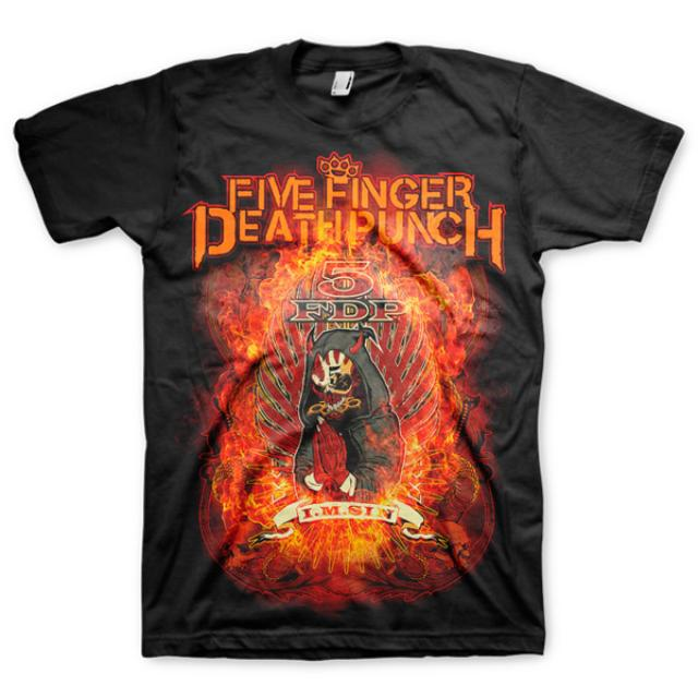 Five Finger Death Punch Wrong Side Of Heaven Vol. 2 Redemption T-Shirt