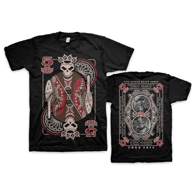 Five Finger Death Punch of Knuckles Tour T-Shirt