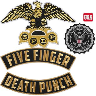 Five Finger Death Punch 5-Piece Patch Set