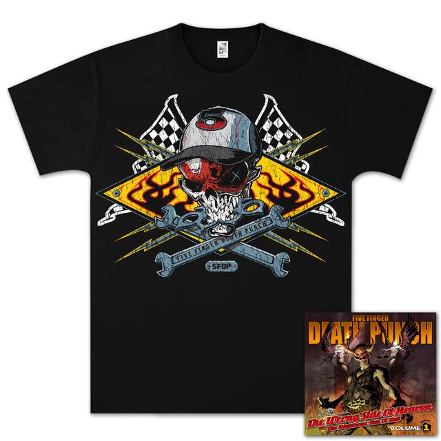 Five Finger Death Punch The Wrong Side of Heaven Silver Bundle