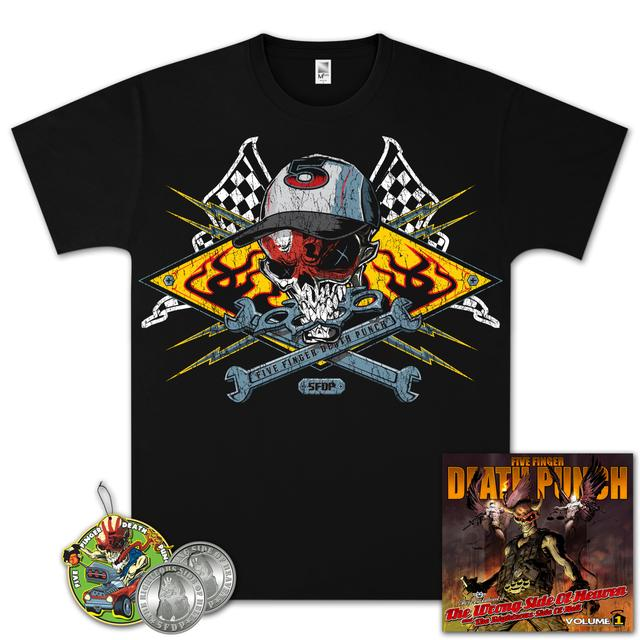 Five Finger Death Punch The Wrong Side of Heaven Gold Bundle