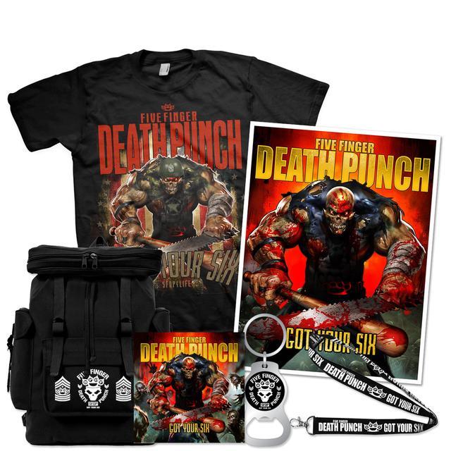 Five Finger Death Punch Got Your Six Bundle #3
