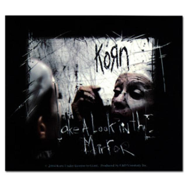 KoRn Mirror Image Sticker