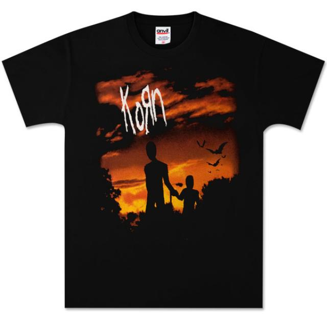 Korn Evening Stroll Black T-Shirt