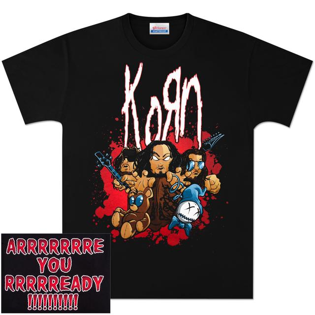 KoRn Are You Ready? Cartoon T-Shirt
