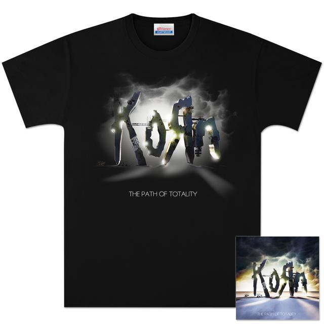 KoRn The Path Of Totality CD/DVD/T-Shirt Bundle