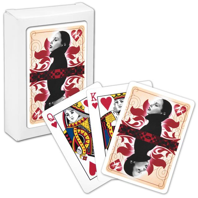 Alicia Keys Queen of Hearts Playing Cards