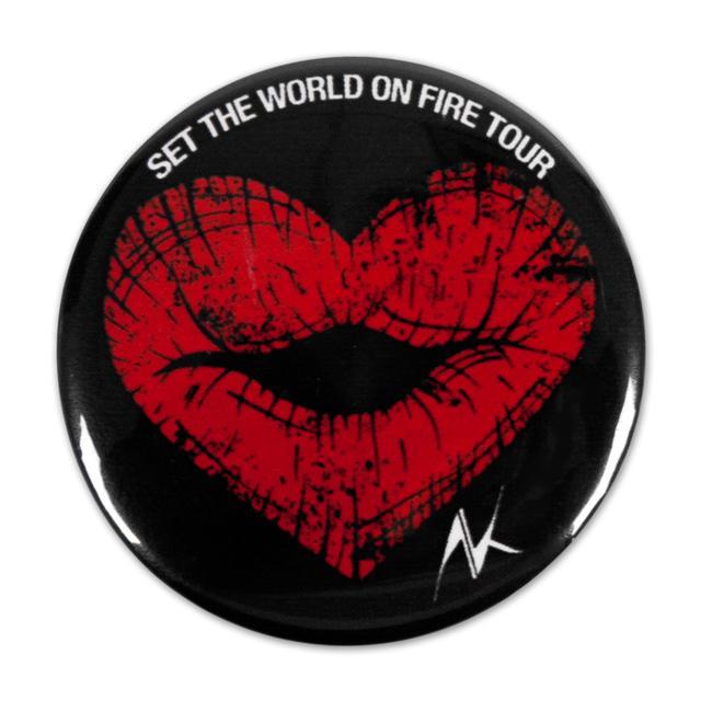 Alicia Keys Heart Lips Pin