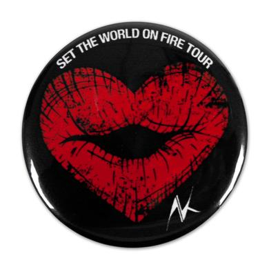 Alicia Keys Heart Lips Pin