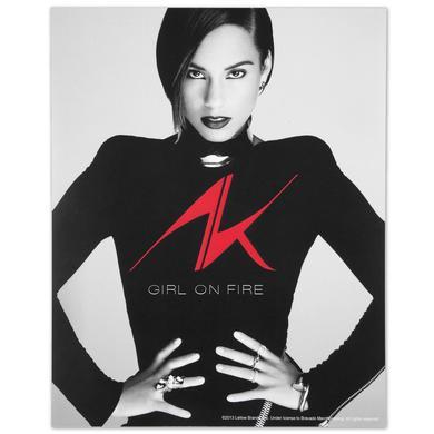 Alicia Keys 8X10 Tour Photo