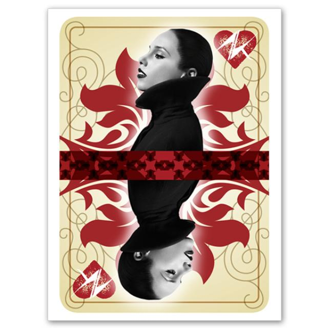 Alicia Keys Queen of Hearts Poster