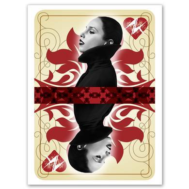 Alicia Keys Queen of Hearts Poster