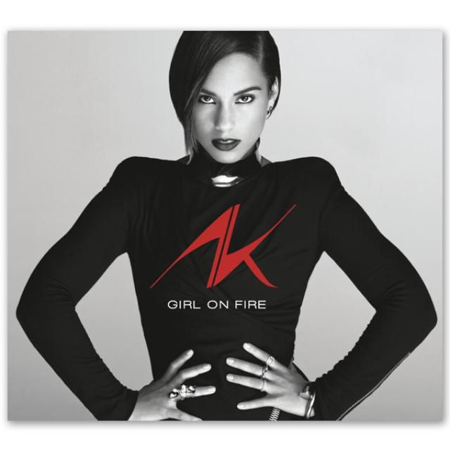 Alicia Keys - Girl On Fire CD