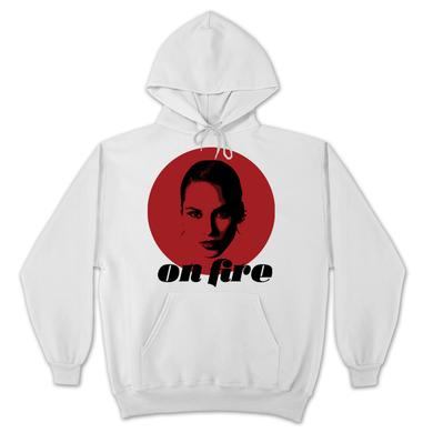 Alicia Keys On Fire Pullover Hoodie