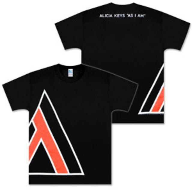 Alicia Keys Large A (Triangle) T-Shirt