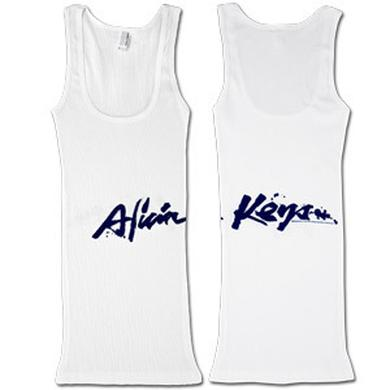 Alicia Keys Girls Beater Splatter Logo