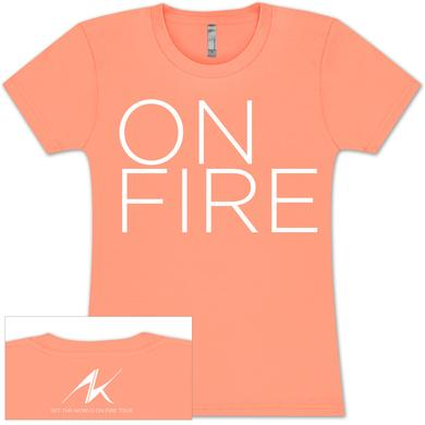 Alicia Keys On Fire Babydoll T-Shirt