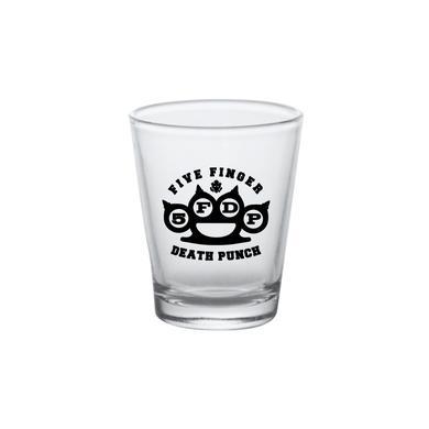 Five Finger Death Punch 5FDP Knuckles Shot Glass