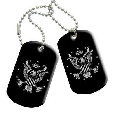 Five Finger Death Punch 5FDP Eagle Stars Dog Tag