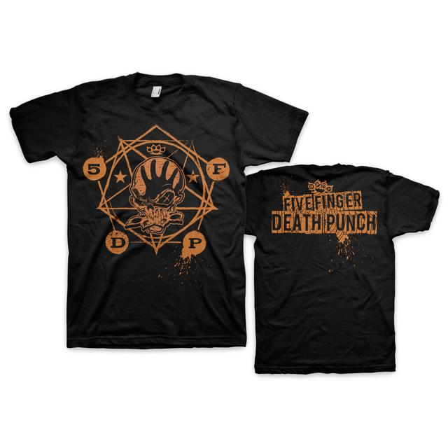 Five Finger Death Punch Skull Halloween T-Shirt