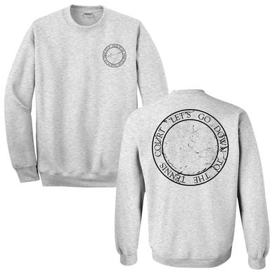 Lorde Tennis Court Grey Crew Neck Fleece