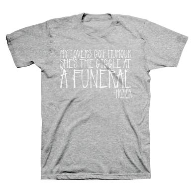 Hozier Funeral Heather Grey T-Shirt
