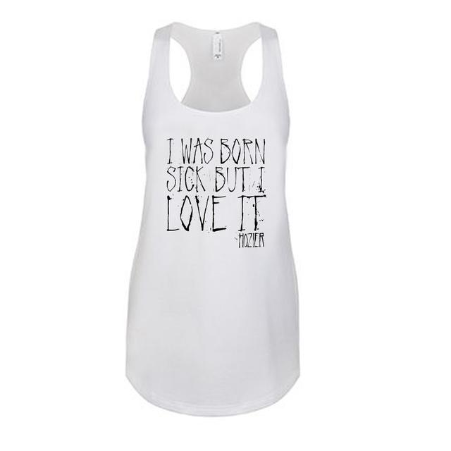 Hozier Born Sick Lyric Tank