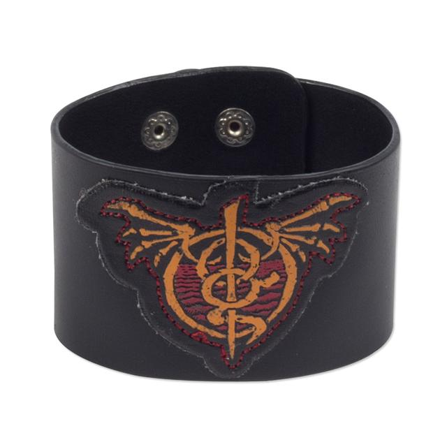 Lamb of God Leather Wrist Cuff