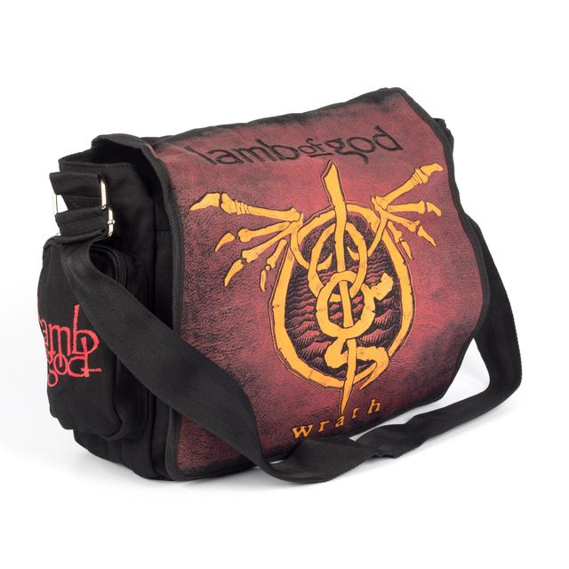Lamb of God Wrath Messenger Bag