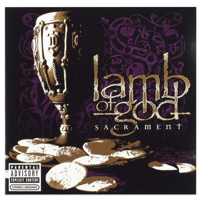 Lamb Of God Sacrament CD