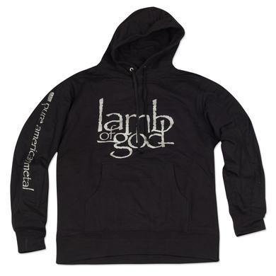 Lamb of God Silver Logo Hoodie