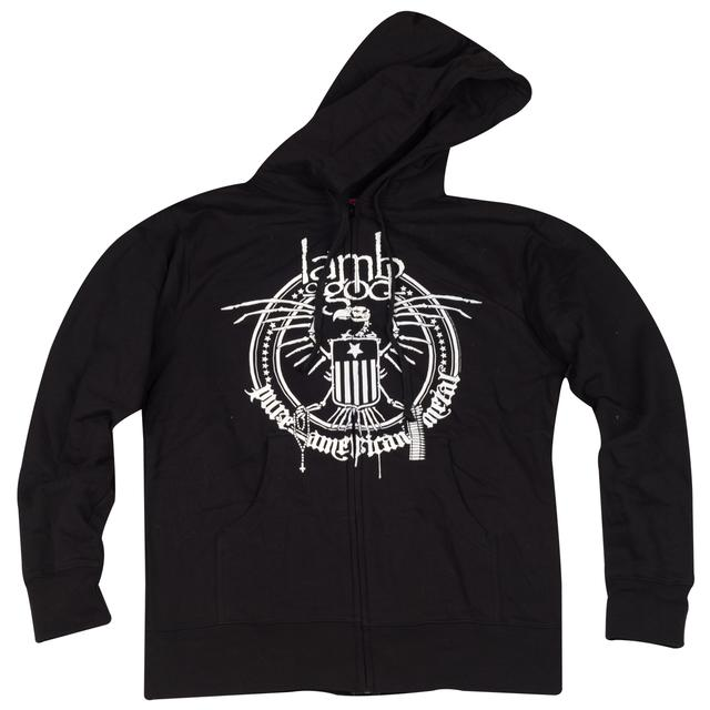 Lamb of God Metal Zip Hoodie